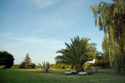 Le parc du Mas del Cavalier